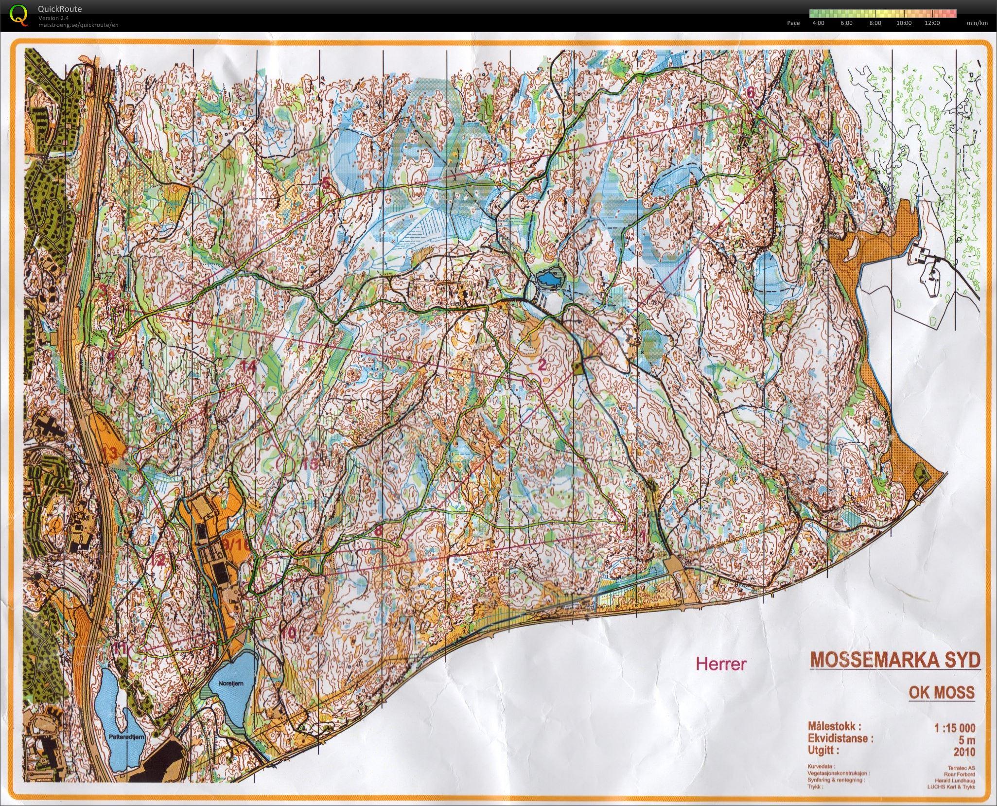 kart over mossemarka Mitt digitale veivalgsarkiv :: Langdistanse i Mossemarka (06.12.2013) kart over mossemarka